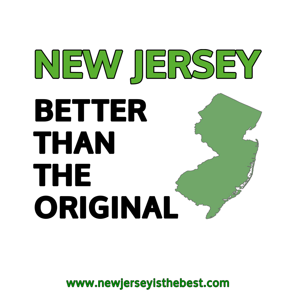 New Jersey: Much better than old Jersey