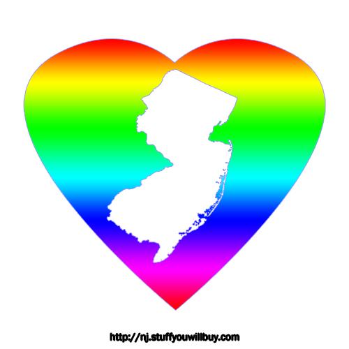 NJ Rainbow Heart
